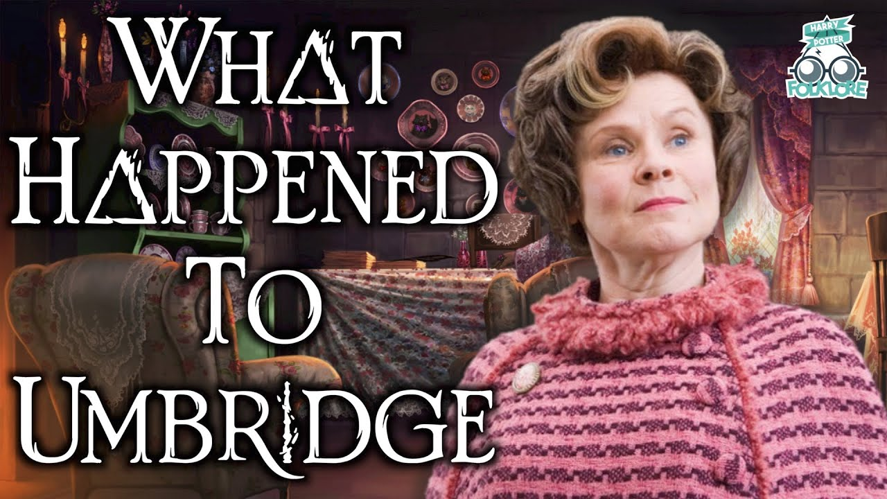 Download What Happened To Dolores Umbridge After The War? Why Didn't She Fight In The Battle Of Hogwarts?