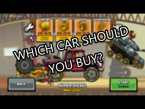Hill Climb Racing 2 - Which Vehicle To Buy?
