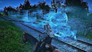 Red Dead Redemption 2 - Ghost Train Encounter (Secret Easter Egg)