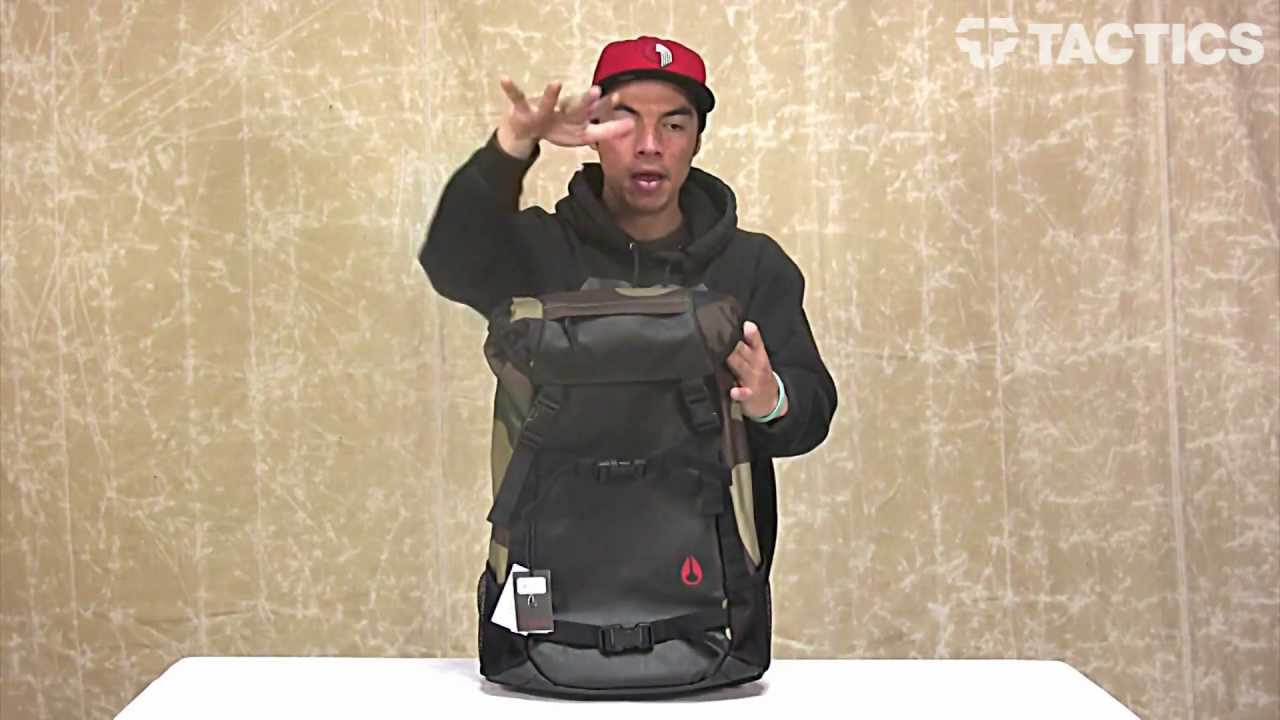 af3bdbfc288e6 Nixon Landlock II Backpack Review - Tactics.com - YouTube