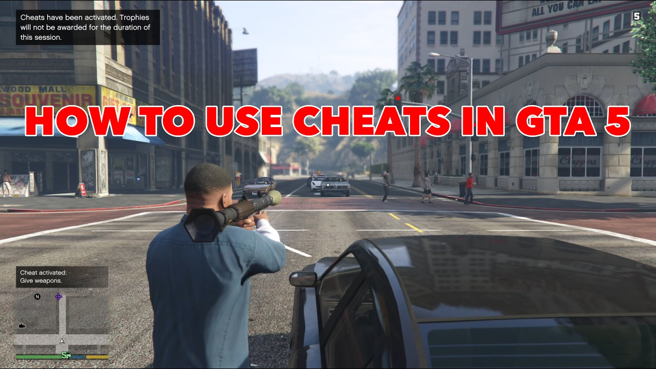 Cheats Gta V