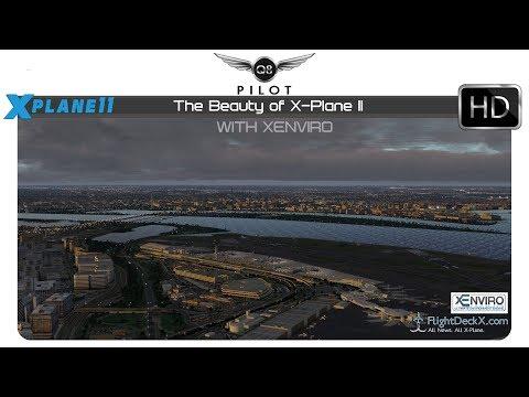 [X-Plane 11] The Beauty of X Plane 11 with xEnviro 1.07