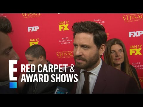 Edgar Ramirez Dishes on Transforming Into Gianni Versace  E! Live from the Red Carpet