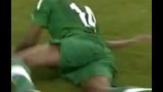 ميسي كسر يد سعود كريري السعوديه vs الارجنتين فيديو واضح