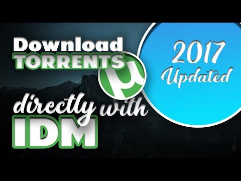 Download Torrents directly with IDM   2017