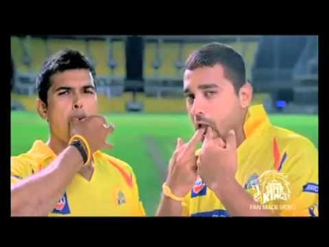 CHENNAI SUPER KINGS'KU WHISTLE PODU♥CHEER UP FOR THE CSK GUYS!