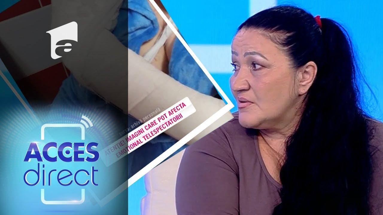Alina, soția bărbatului bătăuș, susține că totul este o minciună:
