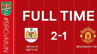 Bristol City vs Manchester United 2-1 Highlights EPL Cup 2017