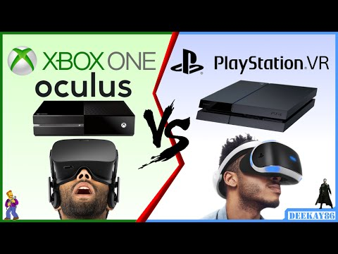 Xbox One VR vs PlayStation VR | WHICH WILL BE BETTER? | Xbox One SCORPIO Oculus / PS4 NEO!