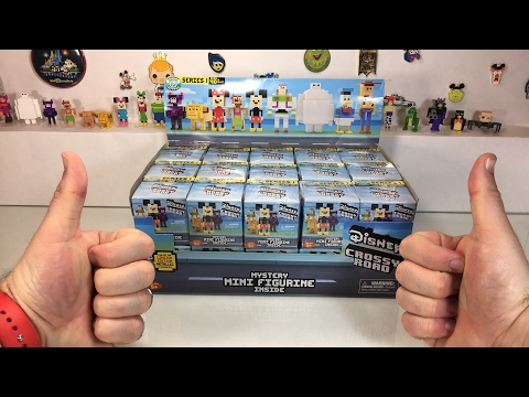 Disney Crossy Road Mystery Figures Full Case Unboxing!
