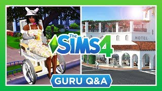 DISABILITIES, HOTELS, WALK STYLES, & MORE! ♿️🏨 — THE SIMS 4 NEWS & INFO