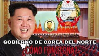 Gobierno De Corea Del Norte ¿Cómo funciona?