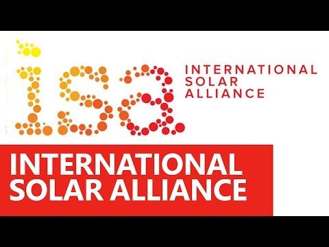 International Solar Alliance (ISA) - Roman Saini [UPSC CSE/IAS Preparation]
