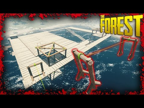 S1E10: I Finally Built A Farking Zipline! | The Forest