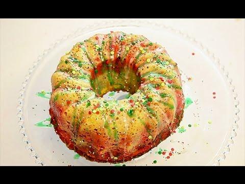 Holiday Wreath Bundt Cake