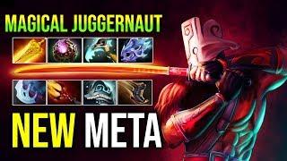 NEW META [Juggernaut] Magical is Better Than Physical RADIANCE + DAGON + OCTARINE By Sylar | DotA 2