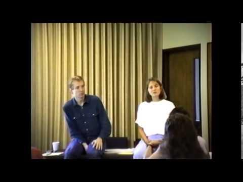 Rex Rabold and Grace Zandarski, 1989