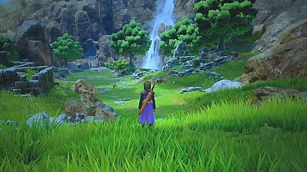 Dragon Quest Xi First Ps4 Gameplay Youtube