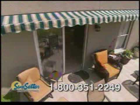 sunsetter awnings tv commercial youtube
