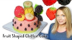 Fruit Shaped Chiffon Cake