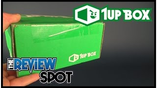 Subscription Spot | 1UP Box March 2017 Subscription Box UNBOXING!