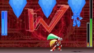 X (jefe) Vs Zero (jefe)  (M.U.G.E.N.)
