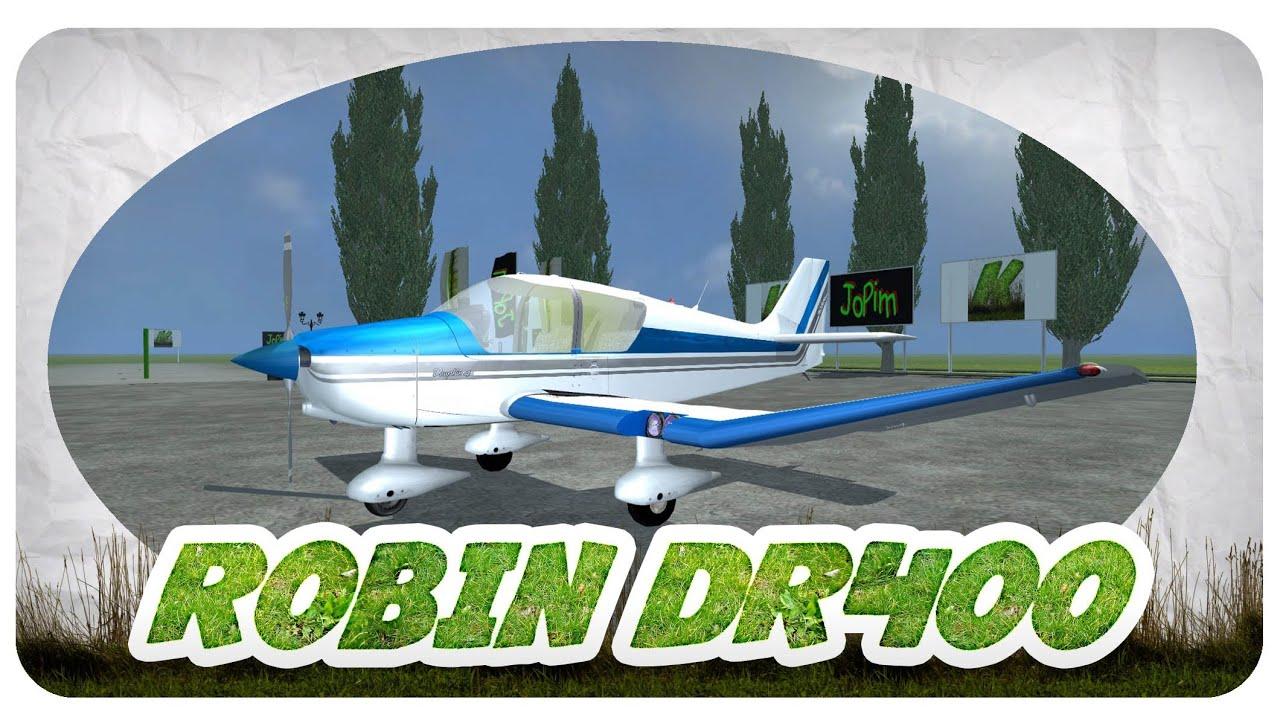 robin dr400 mod f r landwirtschafts simulator 2013 youtube. Black Bedroom Furniture Sets. Home Design Ideas