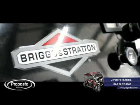 e408a4ac9a8 Gerador de Energia a Gasolina B S ELITE 8000 - YouTube