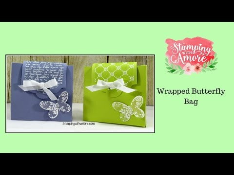 Wrapped Butterfly Bag