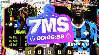 WILL @AJ3 GET HIS REVENGE!?! 87 RULEBREAKER LUKAKU 7 MINUTE SQUAD BUILDER - FIFA 21 ULTIMATE TEAM