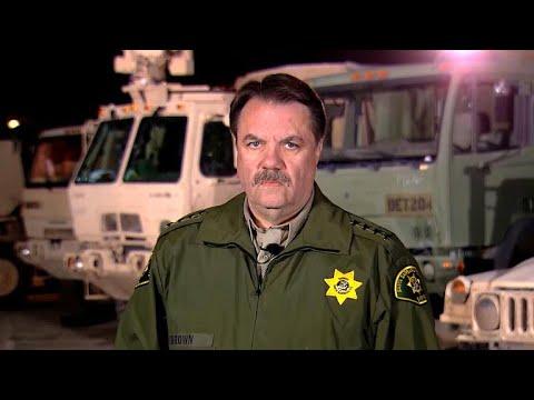 "Santa Barbara County sheriff ""amazed at the intensity"" of storm, mudslides"