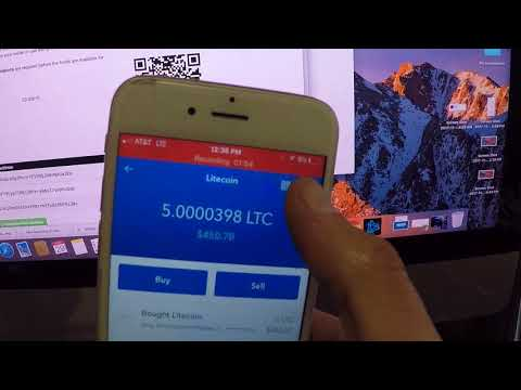 How to Send Litecoin or Bitcoin with COINBASE