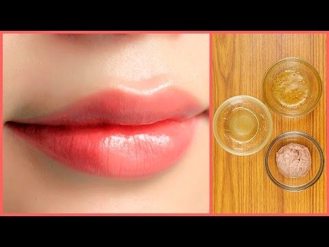 how to make lips soft and pink naturally