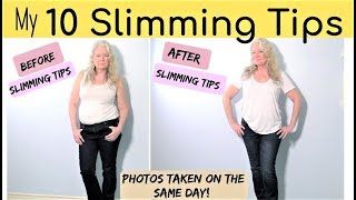 My Top 10 Slimming & Thinning Looks & Tips
