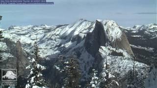 Sentinel Dome, Yosemite National Park, December 2014 Time Lapse