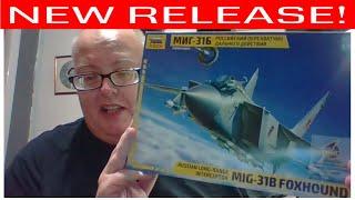 Zvezda MIG31B Foxhound 1/72 new release