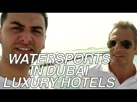 WATERSPORTS IN DUBAI LUXURY HOTELS #MeetTheEntrepreneurs #6