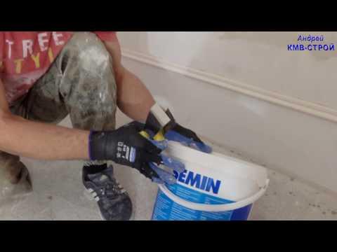 Как клеить гипсовую лепнину,, рамку на стену и потолок
