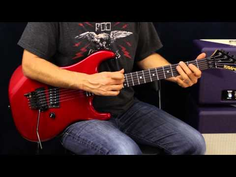 How To Play  Sammy Hagar  Heavy Metal  Guitar Lesson