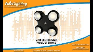 Acue Lighting Volt LED Blinder Product Demo