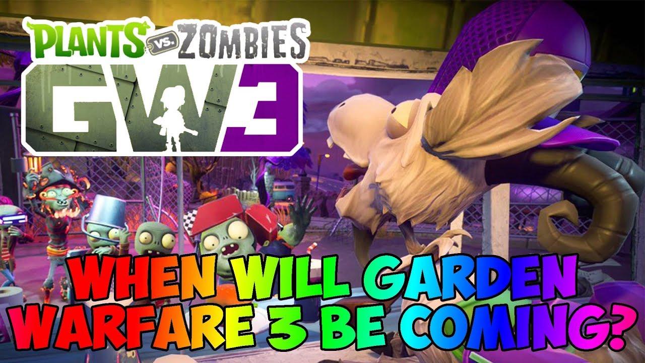 when will plants vs zombies garden warfare 3 be coming - Pvz Garden Warfare 3