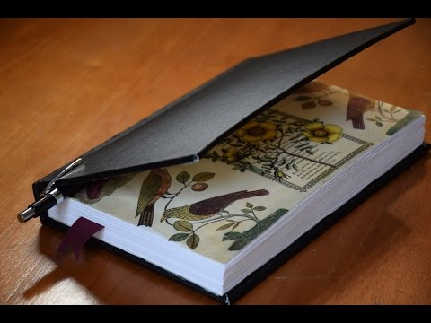 Book Binding - Hand Made Sketch Book [NOT A TUTORIAL]