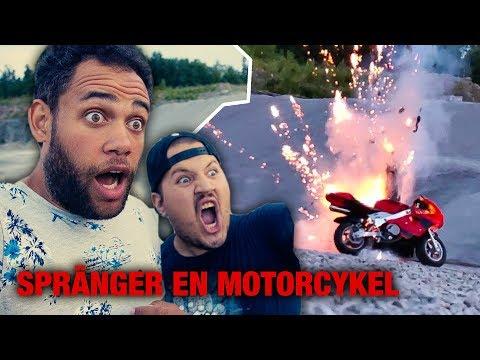 MOTORCYKELN EXPLODERAR | Vlogg