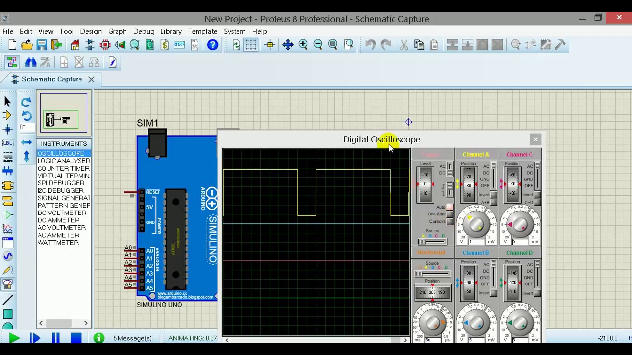 Pwm and frequency generator arduino youtube