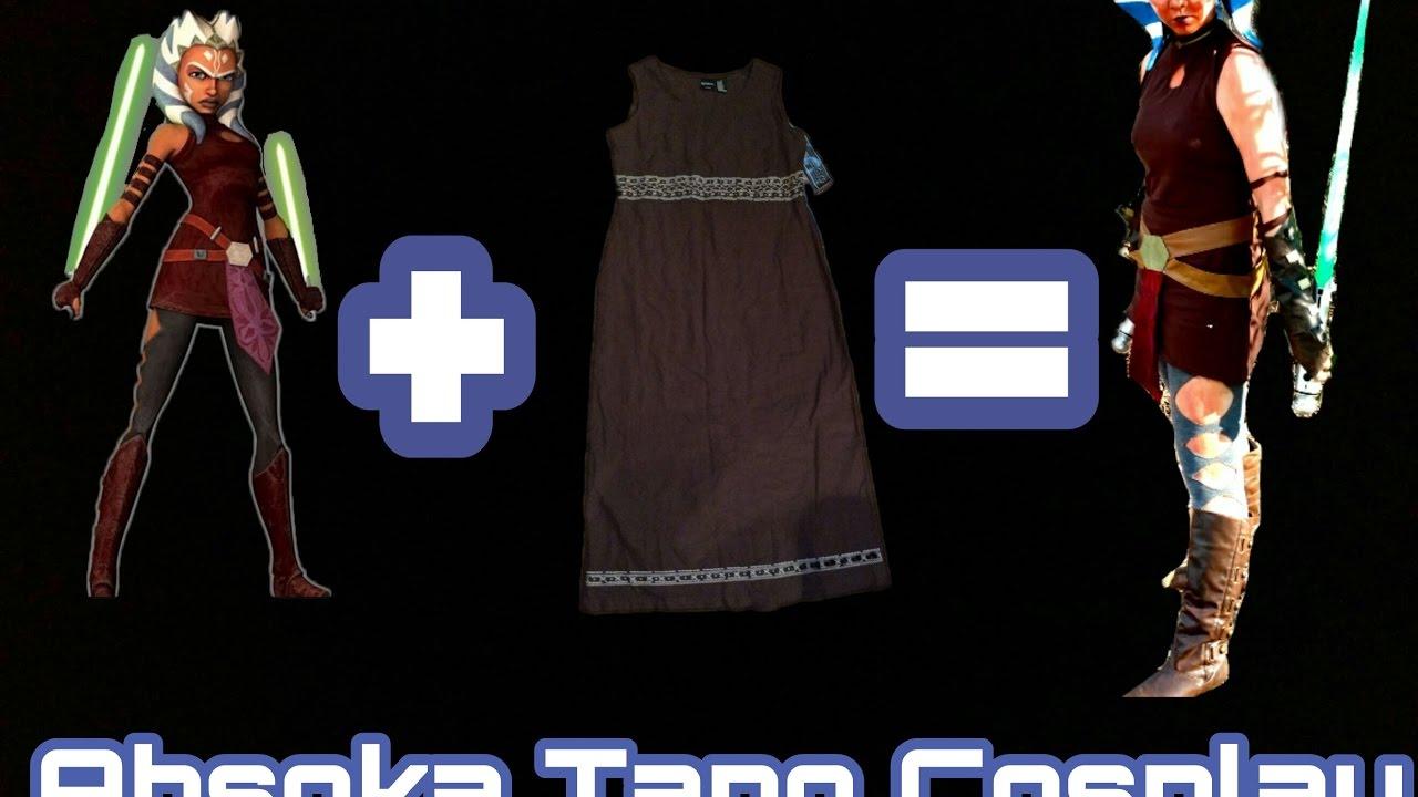 Cosplay Made Easy: Ahsoka Tano Part 3 (Dress, Choker, and ...