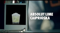 ABSOLUT LIME CAIPRIOSKA DRINK RECIPE - HOW TO MIX