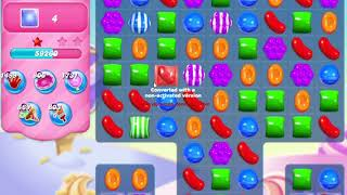 Candy Crush Saga Level 480 NO BOOSTERS waffles
