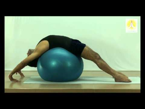 Chest Openers with Stability Ball