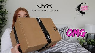 NYX TOP 20 UNBOXING | 9KG Makeup #faceawardsgermany2018