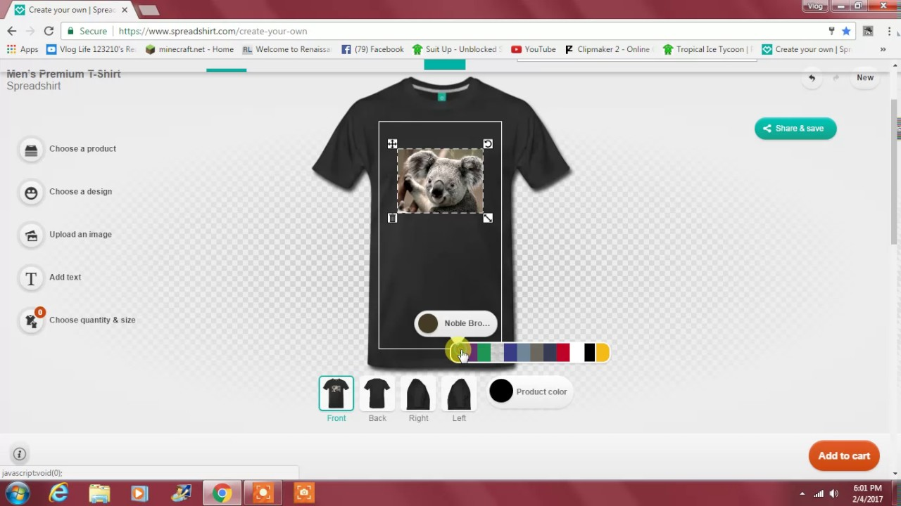 How to make your own merchandise youtube for Create your house online
